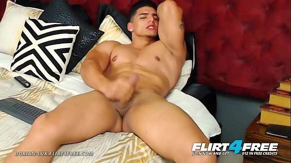 Handsome Guy Video Striptease From a Huge Latin Man