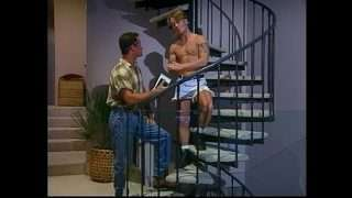 latinoguysporn Striptease on the Stairs and Sex