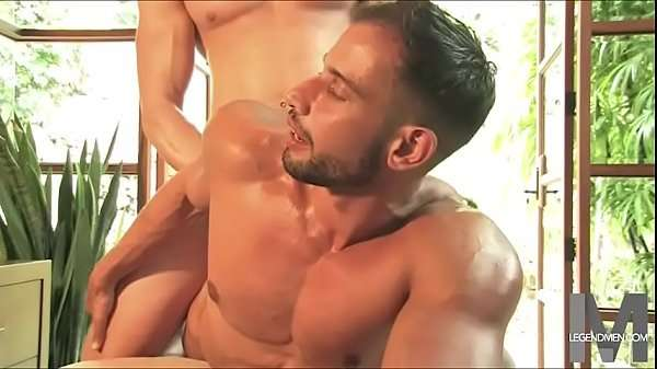 Gay tumblr muscle massage of a handsome man ended with sex