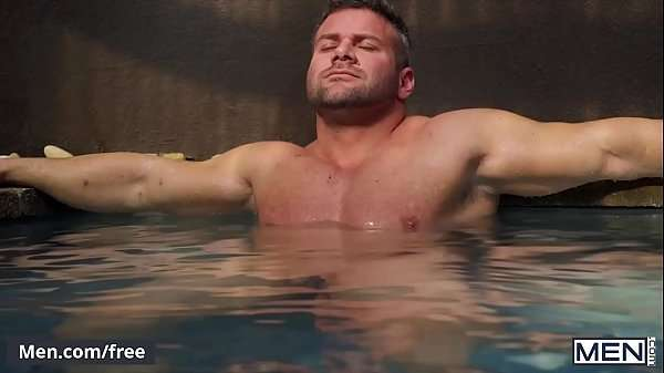 gay muscle threesomes taking a hot bath fucked by best friend