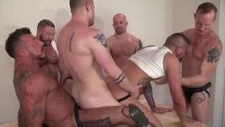 Shay Michaels in Daddy Gang fuck porn tube gay